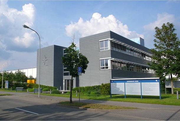 <strong>Gewerbehof Nord<span><b>  </b>Gewerbebauten  </span></strong><i>→</i>